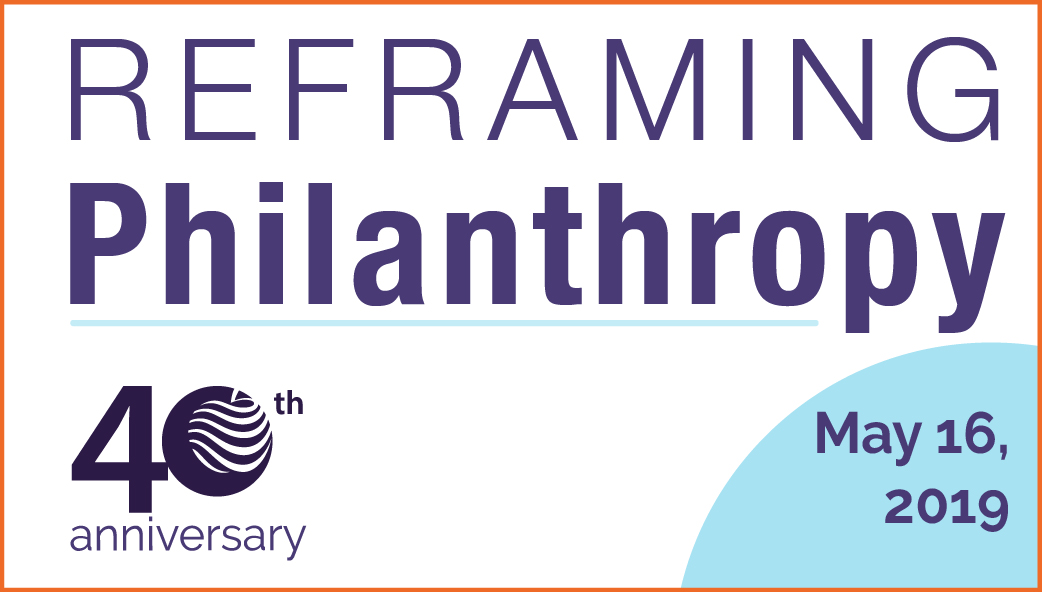 Reframing Philanthropy Invitation Banner